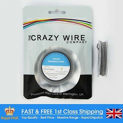 26AWG Double Kanthal A1 Clapton Coil (26AWG x 2 & 32AWG) Wire - 5m  Spool