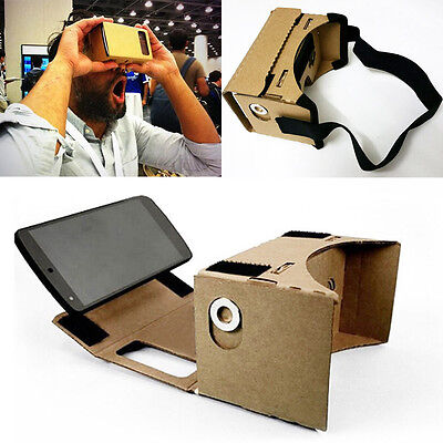 Fun NFC Google Cardboard 3D Virtual Reality VR Glasses For iPhone Android