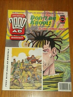 2000Ad Best Of Monthly # 102 Judge Dredd Comic With Free Gift