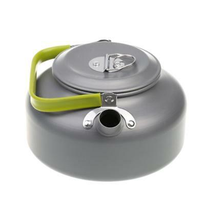 0.8L Outdoor Camp Picnic Cookware Teapot Aluminum Alloy Kettle Coffee Pot