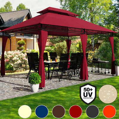 "4x3m Gazebo Marquee Canopy ""Topas"" Garden Party Outdoor Tent Event Shelter"