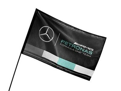 Genuine Mercedes-Benz AMG PETRONAS F1 Fan Flag B67997323 NEW