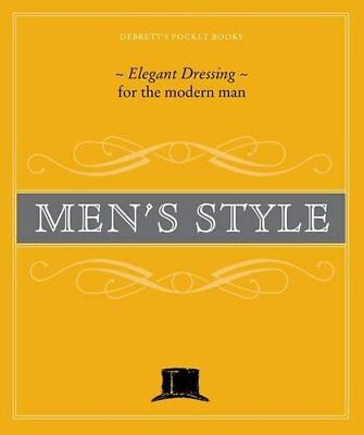 Debrett's Men's Style (Debrett's Pocket Books)