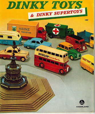 1957 Dinky Toys Dinky Supertoys Catalogue -  Netherlands Edition - 27 Pages