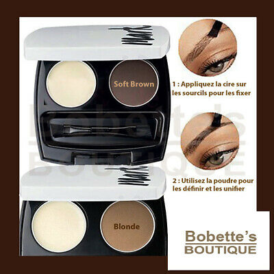 KIT MAQUILLAGE SOURCILS Blonds ou Bruns AVON MARK Définition Professionnelle