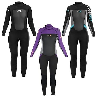 Osprey Origin 3/2Mm Wetsuit Womens Adult Full Length Neoprene Ladies Wet Suit