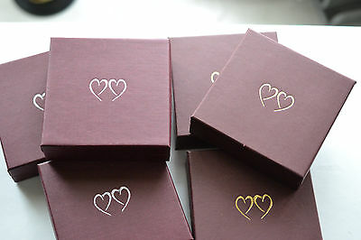 Jewellery Gift Box - With Hearts  Necklace/bracelet/Ring etc.