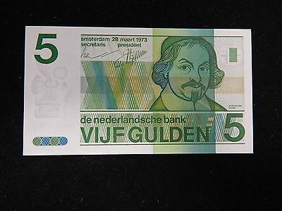 1973 Netherlands 5 Gulden UNC