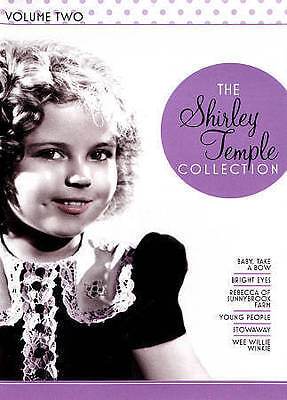 The Shirley Temple Collection - Volume 2 (DVD, 2015, 6-Disc Set) NEW