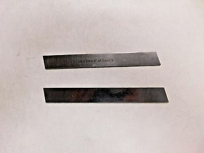 "RTS Prestige Cut-Off Tool Blade 1/8"" x 3/4"" x 6"" HSS Lot of 2 2039-0740"