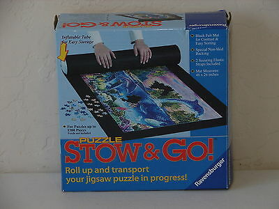 Ravensburger Stow and Go Mat ROLL UP YOUR PUZZLE up to1500 Pcs for Transport