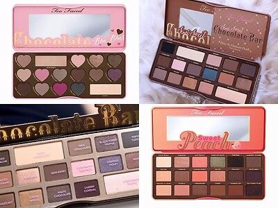 ❤️ Too Faced ❤️ Eyeshadow Palette - Sweet Peach - Chocolate - Sugar Pop