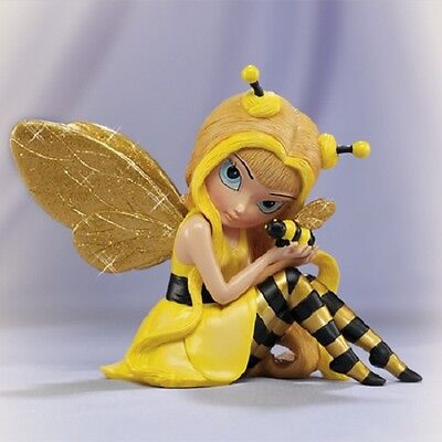 Busy as a Bee Jasmine Becket Griffith Fairy Figurine Bradford Exchange
