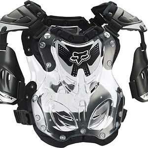 06095-BK Fox small R3 MX ATV Black roost chest protector