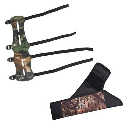 Arrow Quiver Bow Holder Waist Leg Bag & Arm Guard Hunting Shooting Outdoor
