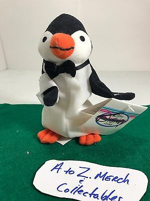 "Disney Store Mary Poppins Penguin 7"" Bean Bag Plush Beanie Character with Tag"