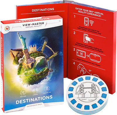 "Viewmaster - Virtual Reality  ""Destinations"" Experience pack  DLL69"