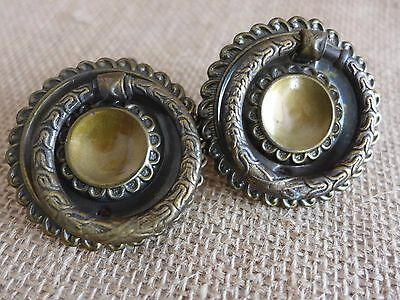 Antique/Vintage Pull Ring Handle Knob Project Door Drawer