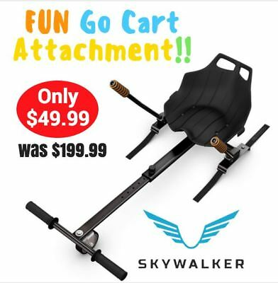 Fun Safe Hover-Kart Go Kart Attachment 2-Wheel Electric Scooter