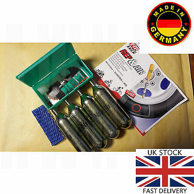 Rema Tip Top Tyre Puncture Repair Kit Scooter Motorcycle Motorbike Atb Quad Bike