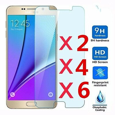 9H+ Premium Tempered Glass Film Screen Protector Guard Cover For Samsung Galaxy