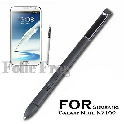 Stylus Penna Pennino Touch Pen Nero per Samsung Galaxy Note 2 N7100 Cellulari