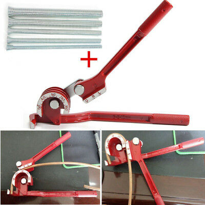 "Tubing Tube Bender Aluminum Copper + 1/4"" 5/16"" 3/8"" 1/2″ 5/8″ Bending Tube Pipe"