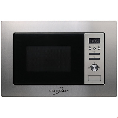 Statesman BMW2080 20 Litre 800W Built in Microwave Oven in Stainless Steel