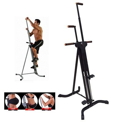 Home Fitness Climber Exercise Machine Cardio Gym Stepper Clinbing Workout System