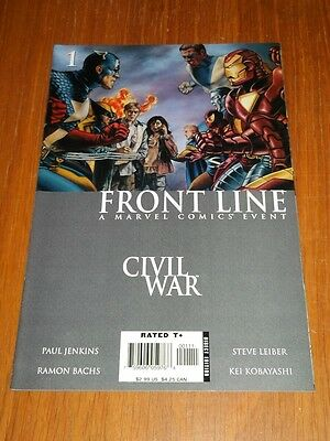Civil War Front Line #1 Marvel Comics Nm (9.4)