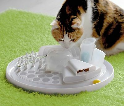 Edupet 7 in 1 Cat Toy Center. Cats / kittens learn by playing. Dishwasher proof
