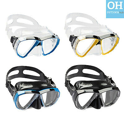 Cressi Big Eyes Mask Wide View  Silicone Sil Snorkelling Diving Scuba Dive Adult