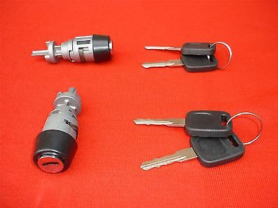 Audi V8 80 100 Steearing Ignition Swich Barrel Lock With Keys 4A1905855