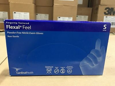 Cardinal Health Flexal Feel Nitrile Exam Gloves, CASE OF 2000