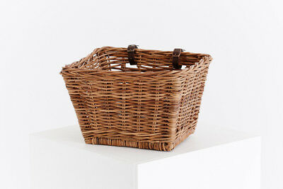 Classic Cisean Natural Rattan Cane Bicycle Bike Basket