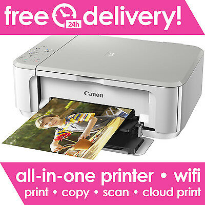 CANON PIXMA MG3650 All-in-One Wireless Inkjet Printer Only Deal inc. USB Cable