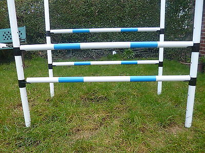 johnsagility training  jump 6 heights training obedience equipment x 2 x 2 poles