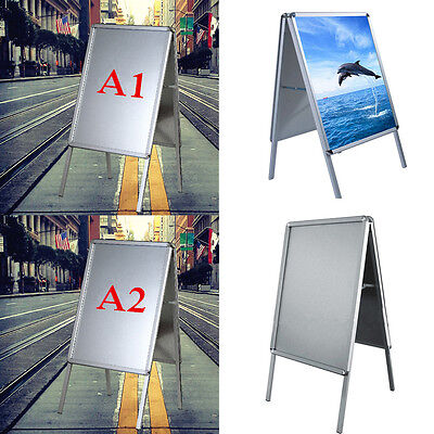 Panana A1/A2 A-Board Double Side Pavement Sign Frame Poster Sign Display Stand