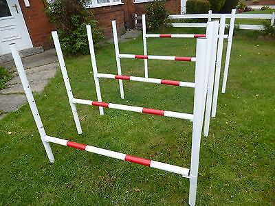 dog agility hurdle jumps x 5 training obedience equipment 100% maintence free