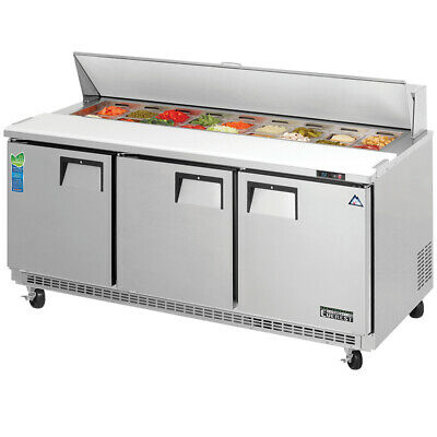 NEW 3 Door Refrigerated Sandwich Prep Table Everest EPBNR3 #3121 NSF Food Cold