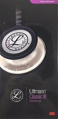 """3M LITTMANN Classic III Stethoscope 27"""" TUBE - CHOOSE YOUR COLOR - FREE SHIPPING"""