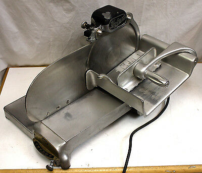 """Hobart Model 210 Commercial 10"""" Meat Slicer Cheese Deli Industrial Runs Great!"""