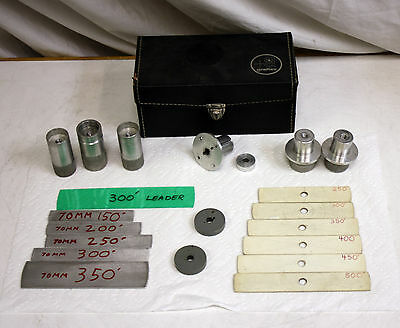 Big Lot Vintage 70mm? Accessories in Graflex case.