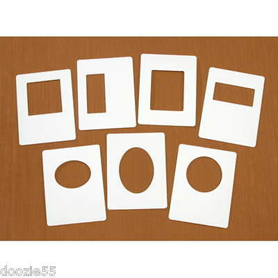 Darice EZFRAME Easy Frames for use with embossing folders 7 Embossing Diffusers