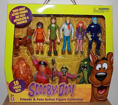 Scooby-Doo Friends & Foes Action Figure Collection NIB