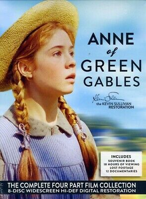 Anne of Green Gables: The Kevin Sullivan Restoration [8 Discs] (2012, DVD NEW)
