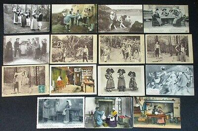 """15 Cartes """" Moeurs-Coutumes-Costumes"""" Lot 2"""