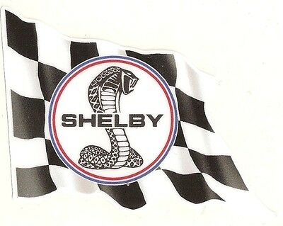 Sticker SHELBY left flag gauche