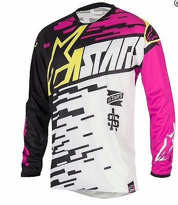 ALPINESTARS MOTOCROSS JERSEY Large NEW!  Motorcross MX Off Road dirt bike