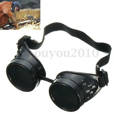 NEW Welding Cutting Welders Industrial Safety Goggles Steampunk Cup Goggles